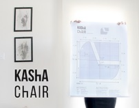 KAShA ChAIR · Corrugated Cardboard, Upcycle done right
