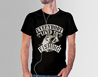 Fishing T-Shirt Design