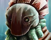 Blob Head\Skull Mask | Illustration