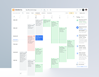 Desktop app templates. Calendar, schedule, timetable