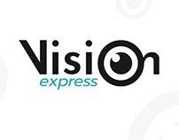 Vision Express | Brand logo design