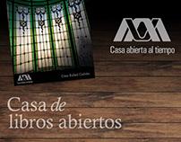 UAM: Casa de Libros Abiertos