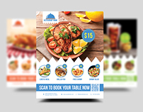 Restaurant Offer Flyer