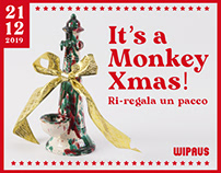 It's a Monkey Xmas! Ri-regala un pacco / Natale 2019