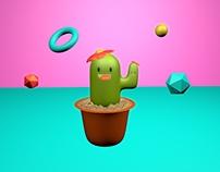 Cinema 4D Cactus