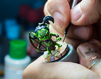 Arcadia Quest Miniature Paint