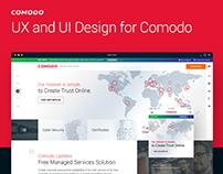 UX and UI Design for Comodo