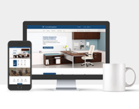 Furniture Website Design Template