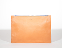 LEATHER SOFT POUCHES / Handmade in France