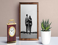 Free Picture Frame Mockup PSD