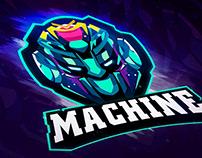 Logo Machine Oscar Creativo
