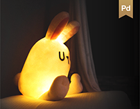 Doll-Lamp. Moonlight doll-RABI, IDEA Product Process.