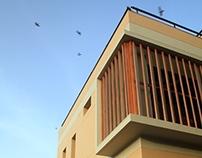 Louver house, Ahmedabad