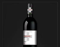 Theisen Wine - PinotNoir Brand&Identity - Product Labe