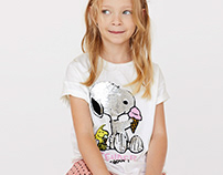 Snoopy SEQUINS Tee