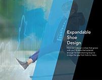 Expandable Shoe Design