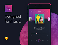 Music Mobile UI Kit
