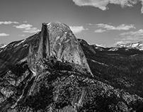 Black. And. White. Yosemite Valley, CA