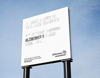 ALZHEIMER'S Awareness Campaign.