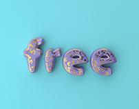 3D Type | Free Scene