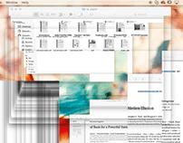 Screen Glitch Recording
