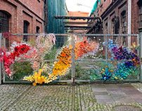 Coral reef of waste - installation
