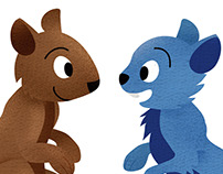 Jimmy & Sam - Children's Book Illustrations