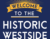 Westside Neighborhood welcome sign