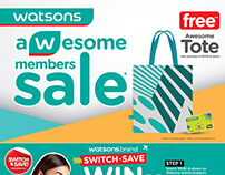 Awesome Member Sale - Store POSM