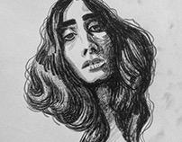 Portrait practice. Part 1.