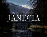 Janecia - Free Serif Font