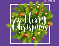 Postkarten für Weihnachten Local.express