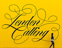 London Calling – Lettering