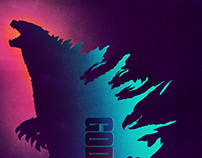 """Godzilla: King of the monsters"" Selected winner poster"