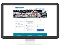 Enterprise SaaS Marketing Website (Redesign)