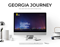 Georgia Journey - Travel Website Design