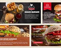Burger Restaurant PSD Template