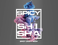 Spicy Shisha - Menu Design