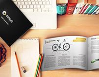Smart Electric Bike - Brochure, T-shirt Design