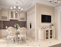 Sochi Apartment_04, 3D Interior Visualization