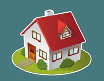 Isometric Game Art for IOS Freemium Home Design Game