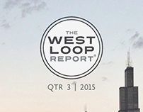 The West Loop Report - Branding and Publication Design