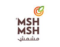 هُوية مشمش | MSHMSH Brand