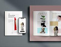 a4 magazine mockup vol2