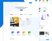 Rebel Digital Agency Landing Page