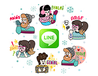 LINE Stickers - Winter Edition