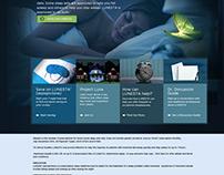 Lunesta: Website Layout & Optimization