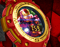 Iron Man Childrens Sports Watch Package\Product