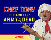 Netflix - Chef Tony X Army of the Dead
