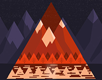 2d color theory over mountains